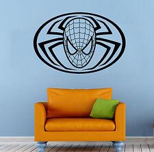 Spider Man Wall Decal Comics Super Hero Vinyl Sticker Home Wall Decor (015sm)