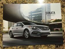 2016 Hyundai Sonata 12-page Original Dealer Sales Brochure