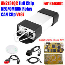 For Renault CAN Clip V187 Chip CYPRESS AN2131QC Pin Extractor V2 Reprog V172