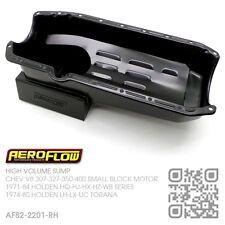 AEROFLOW HIGH VOLUME 6.5L SUMP CHEV V8 307-327-350 MOTOR HOLDEN LH-LX-UC TORANA