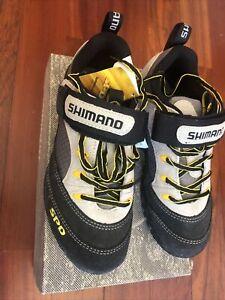 NOS SHIMANO SPD Spin/Road Shoes SH-M037W •Size 37EU, 4.5/6.5US, 23.2cm •2-Bolt