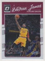 2016-17  LeBron James Donruss Optic NBA Basketball Card #15 - Los Angeles Lakers