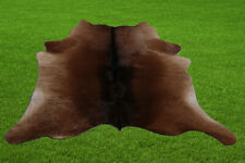 "New Calfhide Rugs Area Calf Skin Leather 8.02 sq.feet (33""x35"") Calf hide U5954"