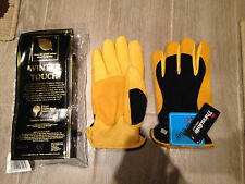 GOLD LEAF WINTER TOUCH GARDENING GLOVES GENTS BRAND NEW WITH TAGS