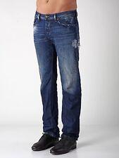 NWT Diesel WAYKEE 0824L DNA Mutation Men Jeans 32 x 32 Safado Larkee Viker $348