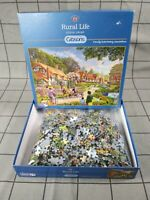 Gibsons Jigsaw Puzzle 1000 Piece - G6161 Rural Life By Steve Crisp Complete