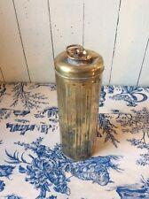 Vintage Latón Calentador De Pies/Agua Caliente Botella/Vintage Motoring (150)