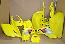 Genuine SUZUKI LTZ400 FRONT REAR PLASTICS FENDERS COMPLETE SET!  03-08 SLP1