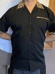 Rockabilly Bowling Shirt Size M