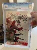 Thunderbolts 1 CGC 9.8 - RARE - Graded - Red Hulk, Punisher. Deadpool, Elektra