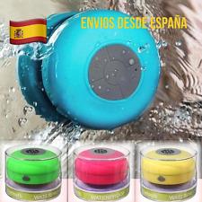 Altavoz Bluetooth Para La Ducha A prueba De Agua Ventosa Baño Playa Piscina