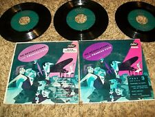 Jazz Exotica Frances Faye No Reservations Capitol 45 EP Set Parts 1, 2, & 3!