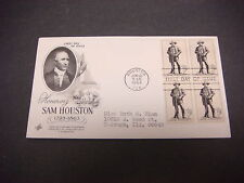 First Day of Issue,FDC,1964 Honoring Sam Houston,Post Houston Texas,5c