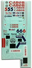 1/10 FW11B Williams Honda F1 decal sticker for Tamiya F103 F104w RC Body