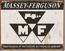 Massey Ferguson USA Traktor Händler Vintage Design Metall Schild