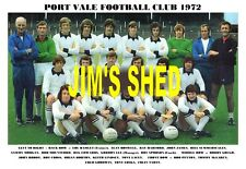 PORT VALE F.C.TEAM PRINT 1972 (HARFORD / MORGAN / HORTON / GOODWIN)