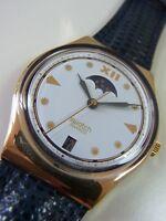 GX709 Swatch 1992 C.E.O. Date Classic Authentic Art In Box