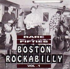 RARE FIFTIES BOSTON ROCKABILLY - Vol.1! CD