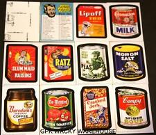 2013 WACKY PACKAGES OLD SCHOOL 3 1967 COMPLETE LUDLOW SET CHECKLIST STICKER CARD