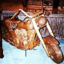 HARLEY DAVIDSON INDIAN MASSIV EDEL HOLZ MOTORRAD MOTOR CYCLE BIKE ORIGINAL GRÖßE