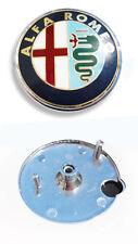 FREGIO STEMMA ALFA ROMEO 147 1° SERIE - GTV MITO IN METALLO CON BIADESIVO 43.324