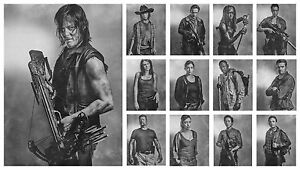 THE WALKING DEAD BB5 DARYL DIXON POSTER PRINT A4 A3 SIZE BUY 2 GET ANY 2 FREE