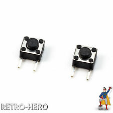 2 x Nintendo Game Boy Advance SP Replace Micro Switch L R Buttons Tasten Knöpfe