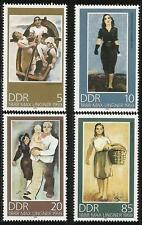 Germany (East) DDR 1988 MNH - Art - Birth Centenary Artist Max Ligner Paintings