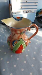 Vintage art deco parrot & company(coronet ware) jug vase 1930s/1940s