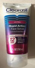 Clearasil Ultra Rapid Action Acne Treatment Face Scrub, 5 Ounce 4/19 or later