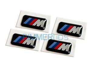 E39 M Wheel Emblems, Genuine OEM BMW M5 540i 530i 528i 525i, 36112228660