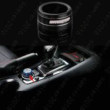 Black Aluminium Gear Shift Panel Button Ring Trim Cover For Mazda CX-9 CX9 16-17