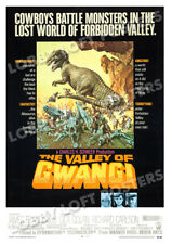 THE VALLEY OF GWANGI LOBBY CARD POSTER OS 1969 JAMES FRANCISCUS DINOSAURS