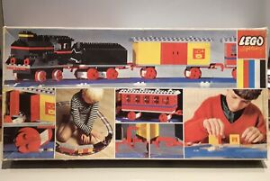Lego Vintage 1967 4.5V Train set No.116 100% Complete Fully working original Box