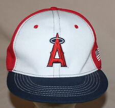 Angels MLB Baseball Hat Red White Blue American Flag Budweiser Adjustable