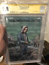 WALKING DEAD #192 1ST PRINT CGC 9.8 SS SIGNED BY ROBERT KIRKMAN DEATH OF RICK