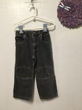 Baby boy jeans size 3 T light black gray knee flex Arizona Jean Company 152