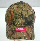 Mossy Oak Camo Hat Strapback Camouflage Baseball Trucker Cap Womens