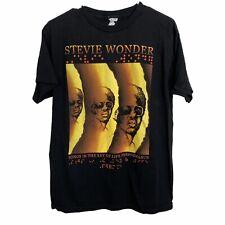 Stevie Wonder Concert Tour 2014 T Shirt size Medium