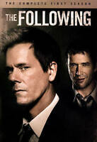 The Following: The Complete First Season (DVD, 2014, 4-Disc Set) Like New