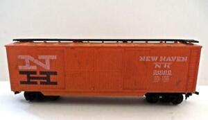 HO Gauge AHM New Haven Double Door Wood Boxcar Excellent Condition