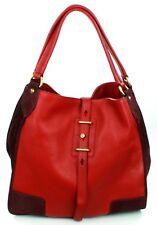 Belstaff Nottingham 38, rouge Sac bandoulière en cuir grand sac à main