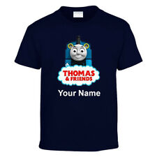 Personalised Thomas and Friends Kids Printed T shirts Netflix Series AnyText Top