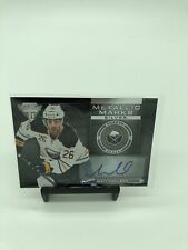 2013 Panini Titanium Metallic Marks Silver #MM-76 Matt Moulson Auto Hockey Card