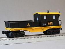 LIONEL CONSTRUCTION RAILROAD WORK CABOOSE CRANE TENDER O GAUGE train 6-84737-C