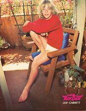 "Leif Garrett - Willie Aames - 11"" x 8"" Magazine Pinup Mini-Poster - Year 1978"