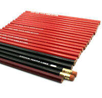 Vtg Lot 21 Pencils Red Wallace 4002 Red REA Express No 1 Missouri Pacific Lines