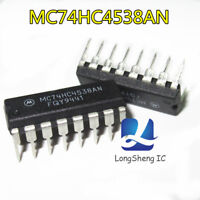 5pcs Integrated chip MC74HC4538AN  DIP-16