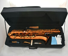 2018 Professional Coffee colour baritone saxophone Bari Sax W/case Accessories