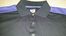 Callaway CTech Large Black Purple Polo short sleeve shirt Large quick dry